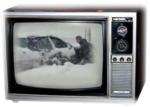 70s TV Snow