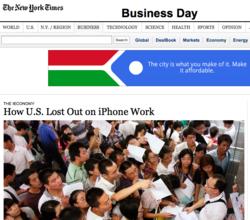 NYT apple jan 2012