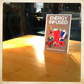 Energy infused